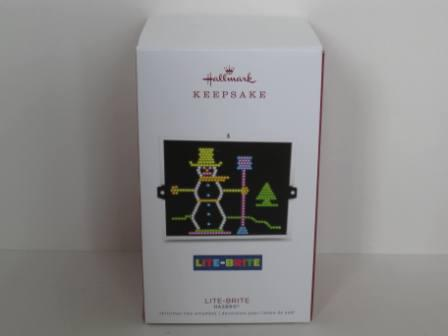 Hasbro Lite-Brite Christmas Ornament (NEW)